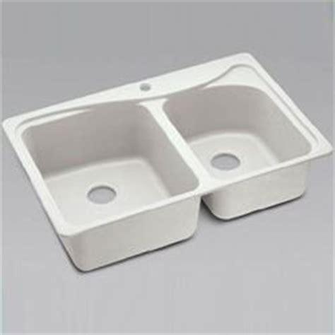 moenstone kitchen sink moen moenstone 25425v kitchen sinks ivory bowl