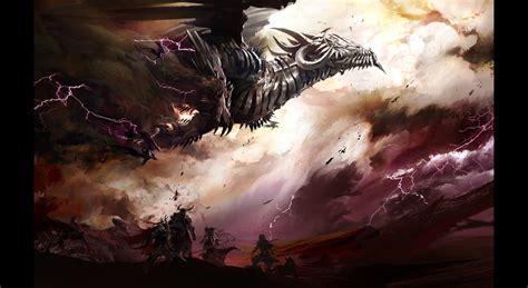 concept art fantasy illustrations photoshopcoolvibe digital art 2d art dragon flying 2d digital concept art fantasy