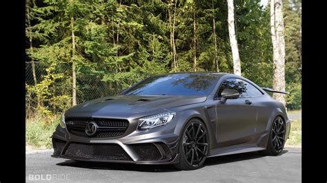 black mercedes amg mansory mercedes s63 amg coupe black series