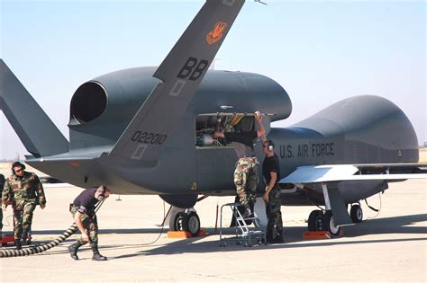 Drone Global Hawk Mq 4c Triton Surveillance Drone Flies Across The United States Ars Technica