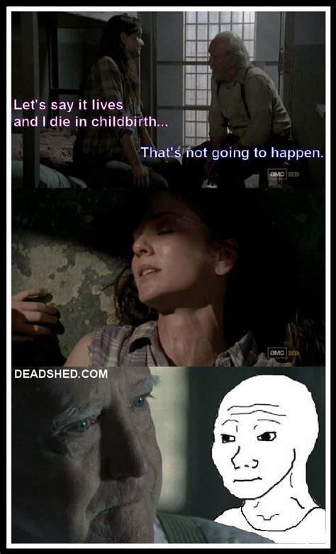 T Dog Walking Dead Meme