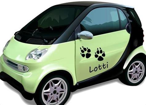 Auto Aufkleber Hundepfoten by Autoaufkleber Tiere Hundepfoten Und Name