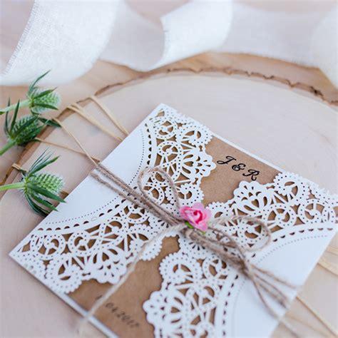 paper laser cutting wedding invitations country pink paper flower rustic laser cut wedding invitations ewws051 as low as 1 99