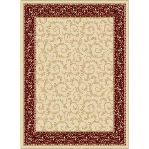 9x13 rug tayse rugs elegance beige 9 ft 3 in x 12 ft 6 in indoor area rug 5402 ivory 9x13 the home