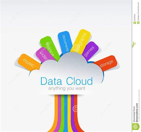 Room Designing App cloud computing creative design concept of data tr stock