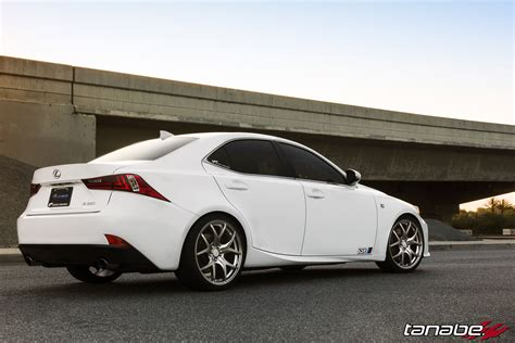 lexus is350 lowered 2014 lexus is350 f sport on tanabe springs and gtv03