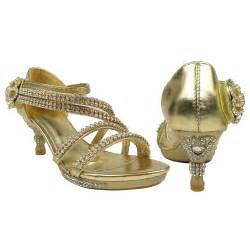 gold high heels kids gold sandals heels