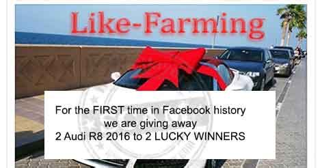 Audi Giveaway 2016 - audi r8 facebook giveaway scam hoax slayer