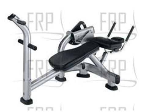 fitness sabc signature abdominal crunch bench fitness and exercise equipment repair parts