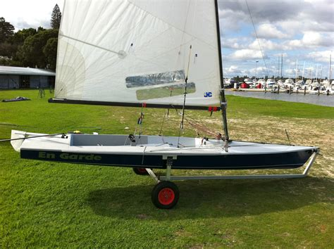 scow dinghy for sale for sale contender class sailing