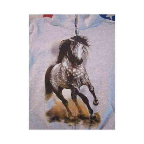 Cavallo Pomellato by Felpa Estiva Con Cappuccio E Zip Bimbo Quot Cavallo Pomellato Quot