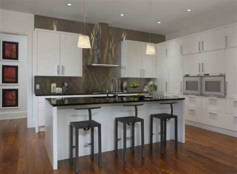 kitchens without backsplash modern kitchens with stainless steel backsplash designs