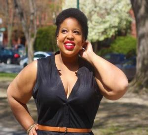 plus size african american ladie with one inch hairstyle african american women tackle negative body stereotypes