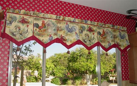 french country rooster curtains french country rooster kitchen curtains whitewash