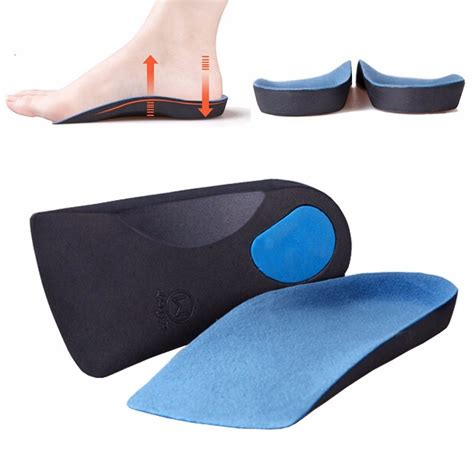 best shoe insert for flat 41 43 m size orthotic insoles insert pad sole arch support