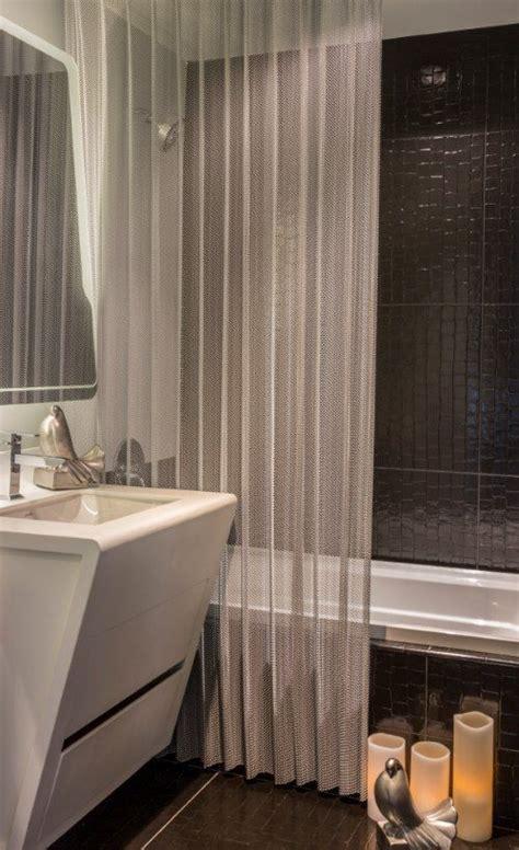 gray shower curtains ideas  pinterest black