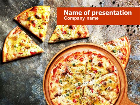 pizza powerpoint template pizza powerpoint template backgrounds 01258