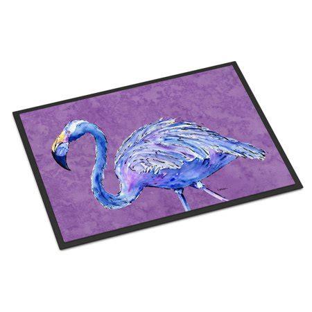 Purple Doormat by Flamingo On Purple Door Mat Doormat Walmart