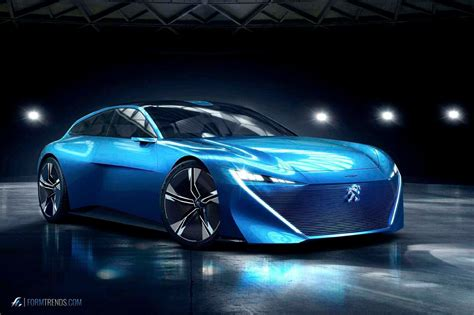 peugeot concept car peugeot instinct concept an autonomous car for driving