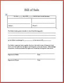 bill of sale template word proposalsheet com