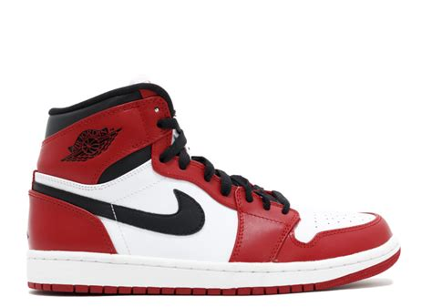Nike Air 1 Retro High White Chicago air 1 retro quot chicago quot white varsity black
