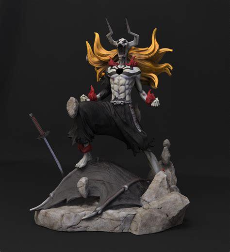 figure 3d kurosaki ichigo hollow 3d figure barrus studio