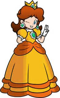 Coloriage Princesse Daisy 224 Imprimer