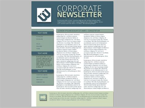 22 free newsletter templates free psd ai vector eps