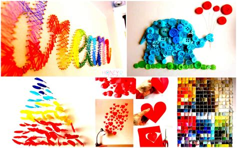 Easy Art And Craft Ideas For Home Decor 37 mind blowingly beautiful diy wall art projects that