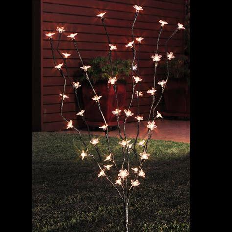 Tree Solar Lights Lytworx 48 Led Warm White 2 Function Blossom Tree Solar Light