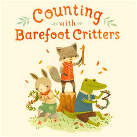 counting with barefoot critters books counting with barefoot critters by white