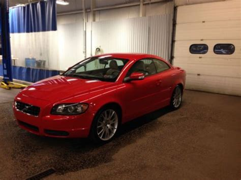 car owners manuals for sale 2008 volvo c70 electronic toll collection buy used 2008 volvo c70 t5 convertible coupe 2 5l standard manual great miles passion red in