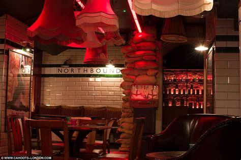 1940s themed events london london soho bar cahoots designed like a 1940s tube station
