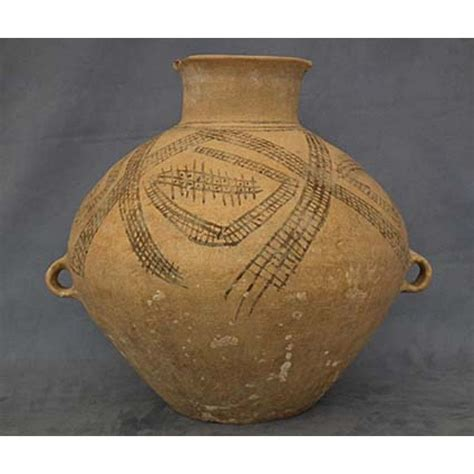Yangshao Culture Vases by Antique Yangshao Neolithic Ancient Hora From