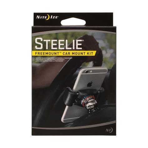 nite ize steelie nite ize steelie freemount car mount kit stfd 01 r8 the