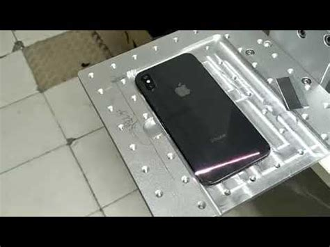 iphone xs max back glass replacement by laser machine