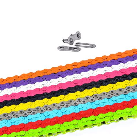 colored bike chains popular colored bicycle chain buy cheap colored bicycle