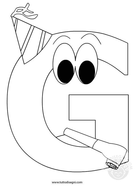 lettere animate da colorare alfabeto da colorare lettera g tuttodisegni