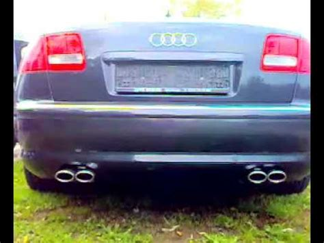 Audi A8 Sound by Audi A8 4 2 Fox Sound Youtube