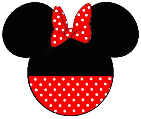 minnie mouse ears template free minnie mouse templates clipart best