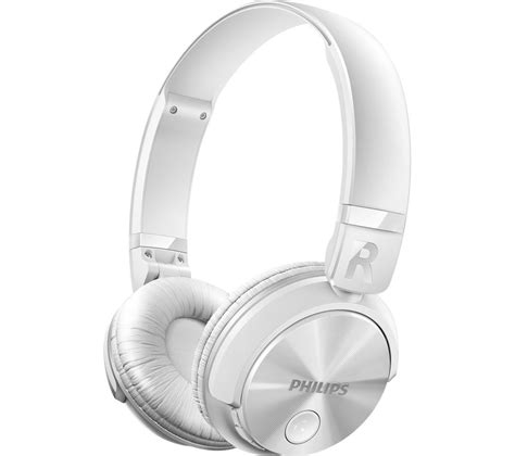 Headset Bluetooth Philips buy philips shb3060wt 00 wireless bluetooth headphones
