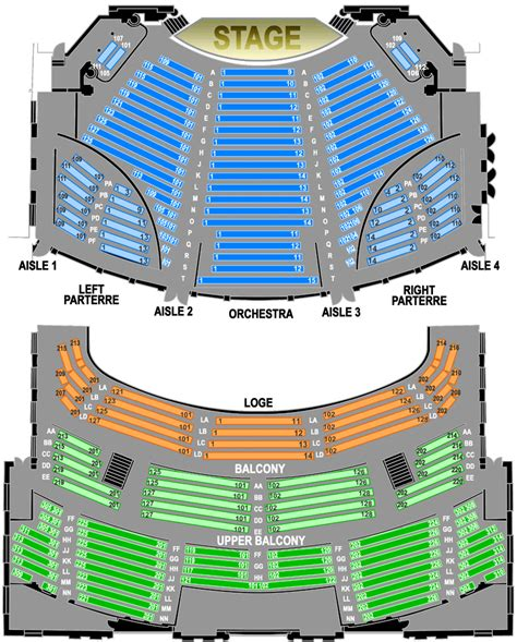 theatre seating chart hawaii theatre seating chart hawaii theatre center