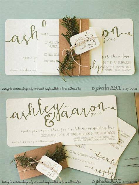 Wedding Stationery Invitations by 25 Best Ideas About Winter Wedding Invitations On