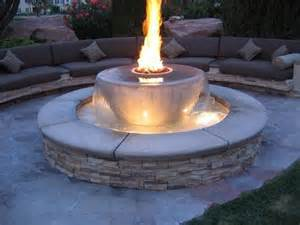 water fire pit inspiration for backyard fire pit designs decor around