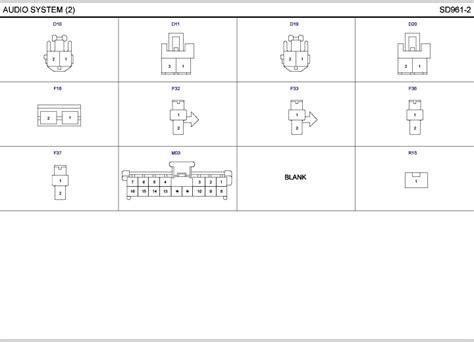 radio wiring diagram 04 kia spectra kia automotive