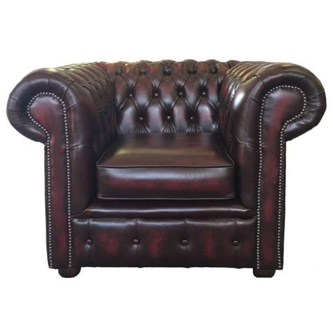real leather chesterfield sofa chesterfield antique oxblood genuine leather club chair