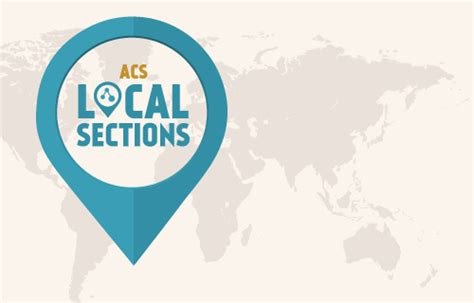 acs local sections american chemical society