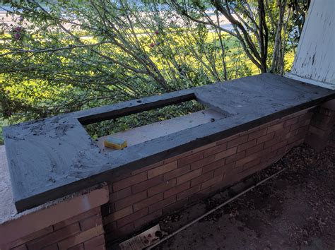 diy concrete countertops polishing hill