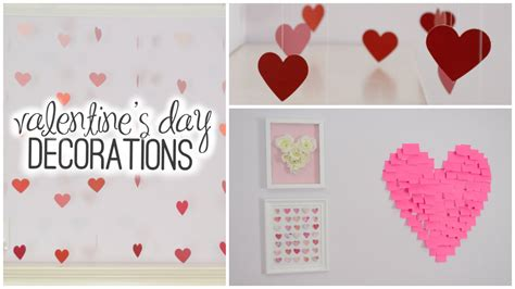 diy room decorations for valentine s day youtube