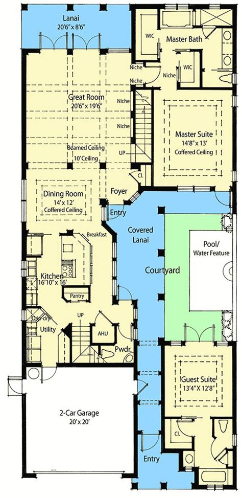 17 best ideas about courtyard house plans on pinterest best 25 courtyard house plans ideas on pinterest courtyard